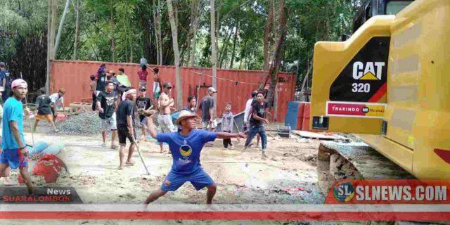Polisi Akan Usut Tuntas Aktor Pengerusakan Fasilitas Tambang Batu Di Desa Pengembur