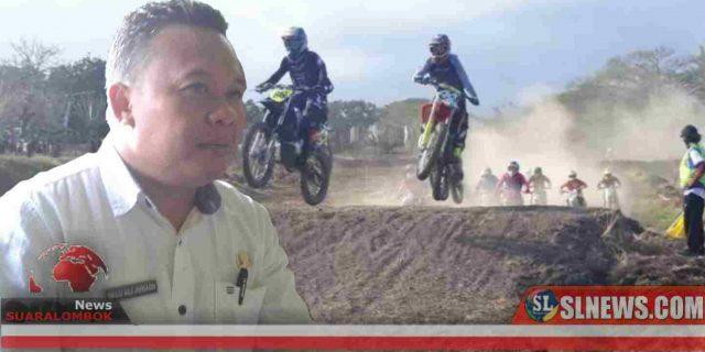 Lalu Ali Berencana Bangun Sirkuit Motocross