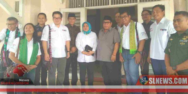 Kunjungan MGPA ke Lombok Tengah Disuguhkan Hasil Kerajinan Tangan dan Produk Lokal Masyarakat