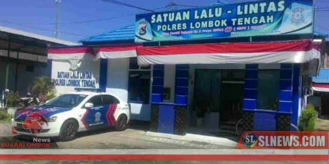 Sat Lantas Polres Lombok Tengah Tak Ikut Pindah ke Eks Gedung DPRD