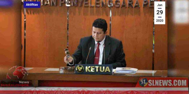 Ini Sanksi DKPP Kepada Ketua dan Anggota KPU Lombok Tengah