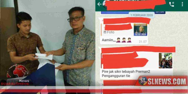 Video Menolak Perubahan Nama BIL Dihina, Ketua Formapi NTB Lapor Polisi