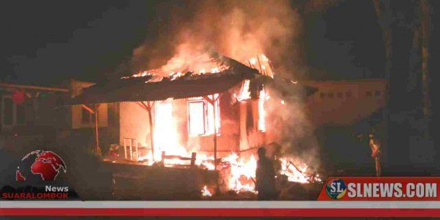 Dituduh Dukun Santet, Rumah Papuk Sumeram Dibakar Masa