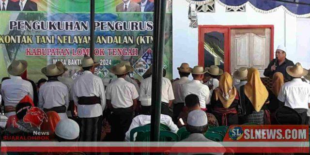 Pesan H. Moh Suhaili FT Kepada Pengurus KTNA Lombok Tengah