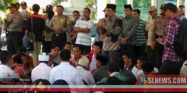 Tuntut SK, Ratusan P3K Kepung Dewan Lombok Tengah