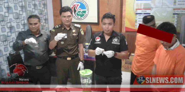 Musnahkan BB, Polres Lombok Tengah 'Blender' 100,16 Gram Sabu