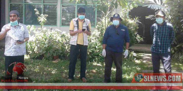Cegah Covid-19. Besok, Kendaraan Taktis Polisi dan Damkar Semprot Disinfektan Dijalan Protokol Dan Fasilitas Umum di Lombok Tengah