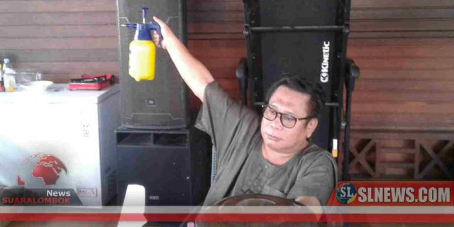 Cegah Covid-19. 2×24 Jam, Pusat Perbelanjaan di Lombok Tengah Tak Sediakan Handsenitizer Ditutup