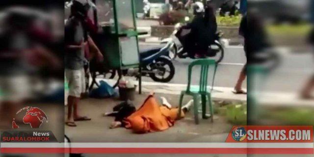 Viral Video Gadis Yang Jatuh di Komplek Pertokoan Kota Praya Ternyata Overdosis Obat Mag, Gara – Gara Cemburu
