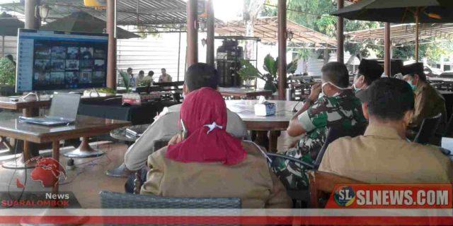 Bupati Suhaili Jelaskan Penanganan Covid-19 di Lombok Tengah ke Gubernur Zul