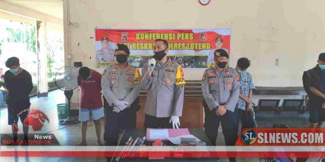 Pesta Petasan Dibulan Ramadhan dan Ditengah Wabah Covid-19, 6 Remja di Lombok Tengah Ditangkap Polisi