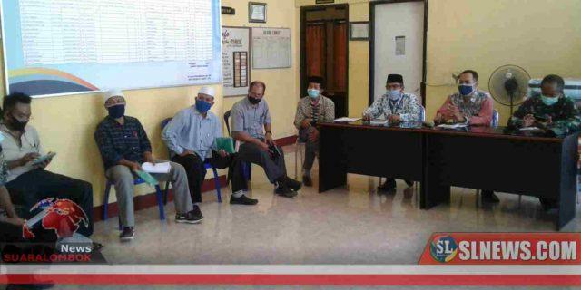 Gugus Tugas Penanganan Covid-19 Kecamatan Praya Barat Susun Strategi Lawan Corona