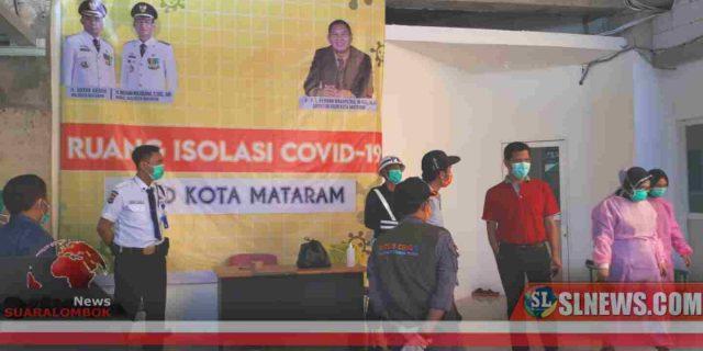 Gugus Tugas Covid-19 Jemput Warga Lombok Tengah Yang Sembuh Dari Corona di Kota Mataram