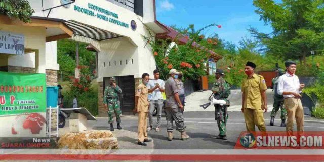 H+2 Lebaran, Aparat Gabungan Bubarkan Wisatawan di Lokasi Wisata di Lombok Tengah