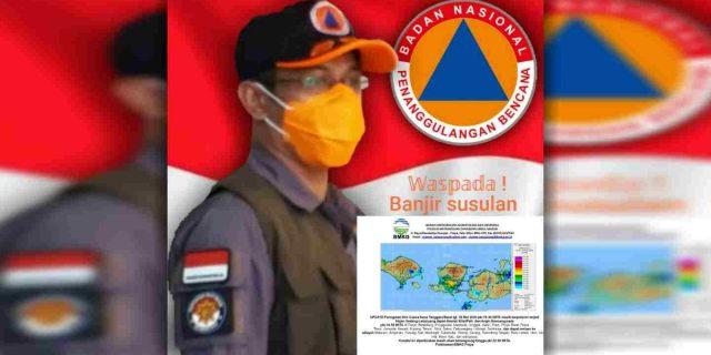Intensitas Hujan Tinggi, BPBD Lombok Tengah Imbau Warga di Wilayah Rawan Bencana Waspada