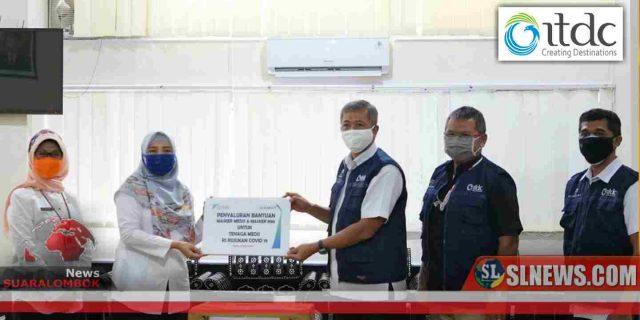 11 RS di Bali dan NTB Dapat Sumbangan 21 Ribu Masker Dari ITDC dan Club Med Indonesia