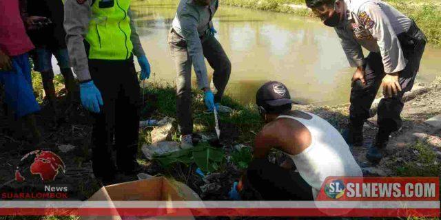 Pemancing di Lombok Tengah Temukan Orok Bayi di Saluran Irigasi Bendungan Batujai