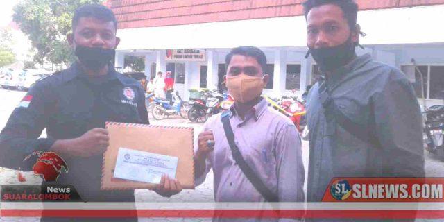 Dugaan Korupsi Kades Kelebuh Dilaporkan ke Polres Lombok Tengah