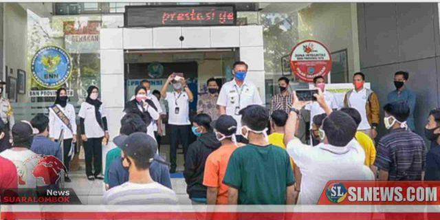 GPAN Lombok Barat Serahkan 35 Orang Remaja ke BNNP NTB
