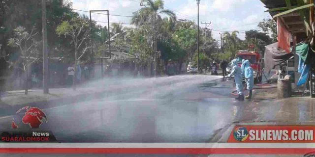 Nakes RSCM Positif Covid-19 Meninggal Dunia, Jalan Gajah Mada Leneng Dihujani Disinfektan