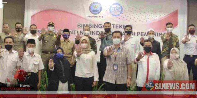 Jelang motoGP, Pemprov NTB dan Pemkab Lombok Tengah di Bimtek BNN