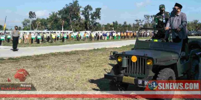 Apel Penegakan Hukum Protokol Kesehatan Covid-19 Digelar di Lombok Tengah