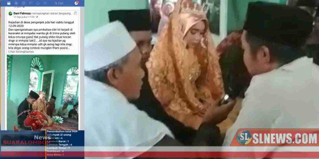 Beredar Video Akad Nikah Siswi SMP di Lombok Tengah