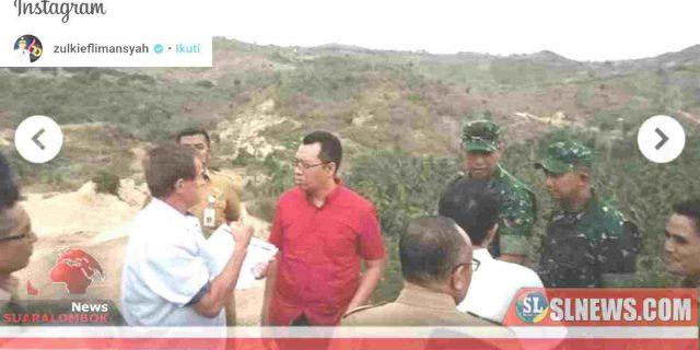 Gubernur Zul Segera Tandatangani SK Tim Penertiban Tambang Liar di Desa Prabu