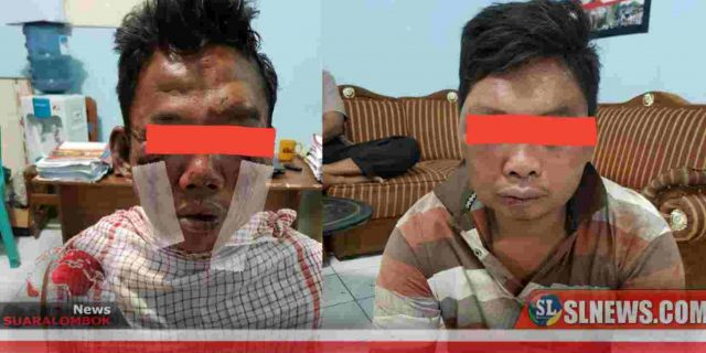 Curi Motor Saat Shalat Jumat, Dua Orang Terduga Pelaku Curanmor di Lombok Tengah Nyaris Tewas Digebuk Masa