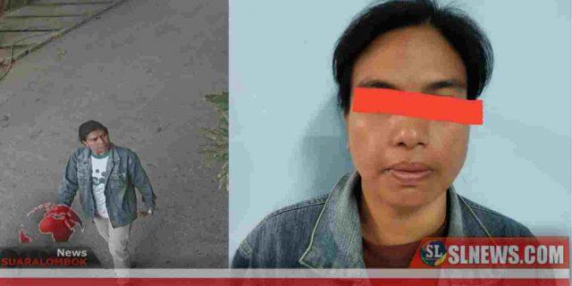 Terekam CCTV Saat Mencuri di Semayan, Wanita Asal Puyung Diborgol Polisi