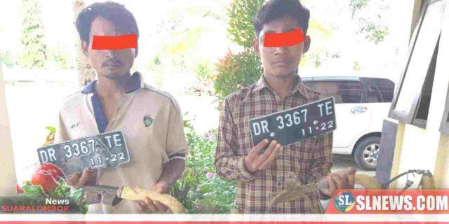 Komplotan Curanmor Asal Desa Mertak Ditangkap Polisi