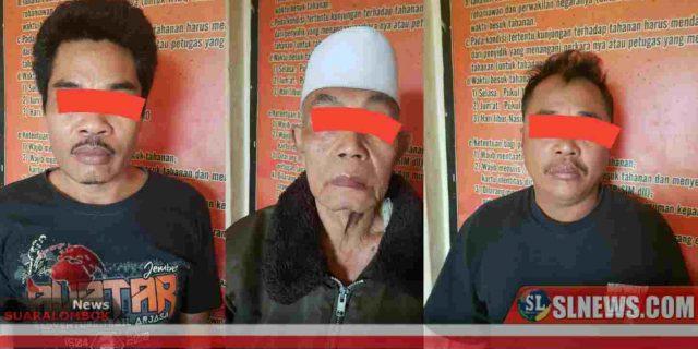 Suruh Orang Lain Rampok Anak Kandungnya Sendiri, Kakek 57 Tahun di Lombok Tengah di Tangkap Polisi