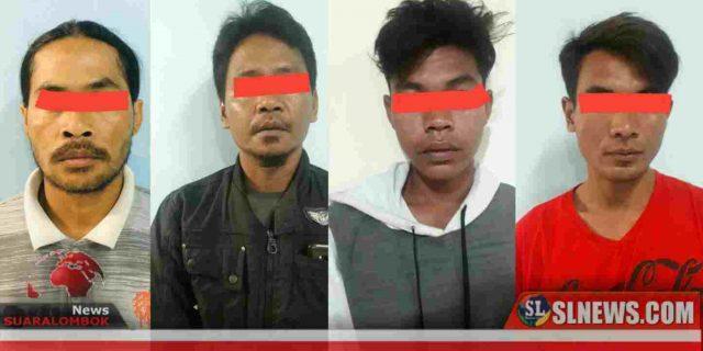 Polres Lombok Tengah Ungkap Gembong Penadah Motor Hasil Curanmor di Kecamatan Janapria
