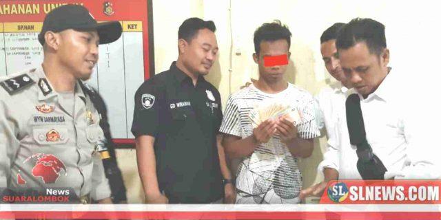 Curi Uang Tamu 1.300 euro, Karyawan Villa di Lombok Tengah Ditangkap Polisi