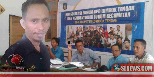 Hasil Konsolidasi, Alus Terpilih Jadi Ketua Forum BPD Kecamatan Pujut