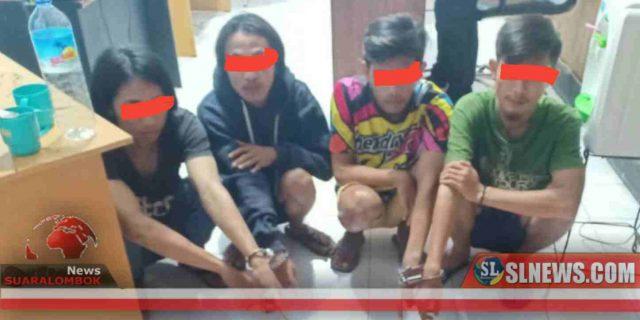 Bawa Sabu, 4 Pemuda Asal Desa Kateng Ditangkap Polisi dan BKD Beleka