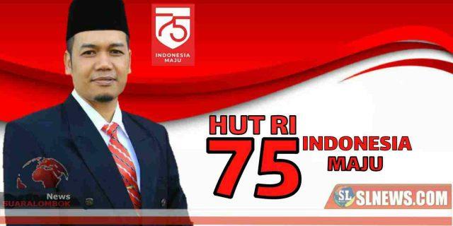 Upacara HUT RI ke-75 di Lombok Tengah Terapkan Protokol Kesehatan Covid-19