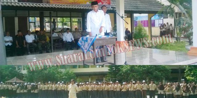 Wabup Lombok Tengah  Pimpin Apel HKBN 2017