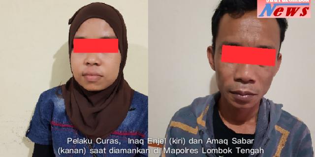 """Enjel"""" Menantu Pembocor Harta Mertua Ditangkap Polisi"""