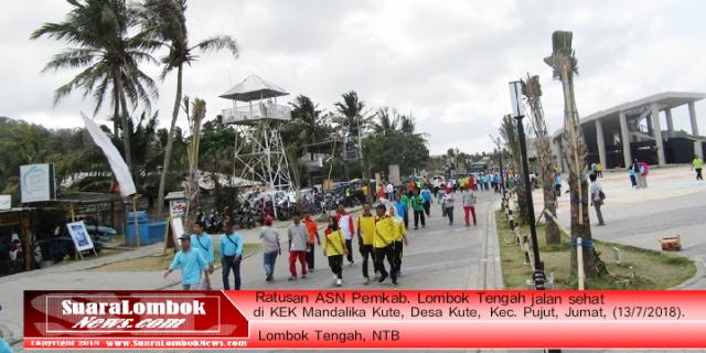 Sukseskan Lari Marathon Internasional, HUT TNI ke 73, Pemkab. Lombok Tengah Berbenah