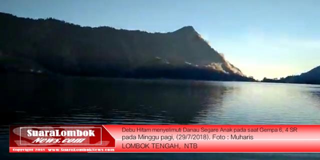 Ini Kesaksian Pendaki Gunung Renjani Rute Lombok Tengah Yang Selamat Dari Gempa 6, 4 SR