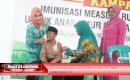 Pemkab. Lombok Tengah Gelar Pencanangan Imunisasi MR