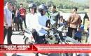 Naik Motor Trail TNI, Jokowi Dibonceng TGB Tinjau Tenda Pengungsian Korban Gempa Di Lombok Utara