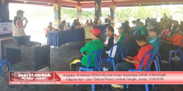 """""""RISHA"""" Rumah Tahan Gempa Bakal Dibangun di Lombok Tengah"""