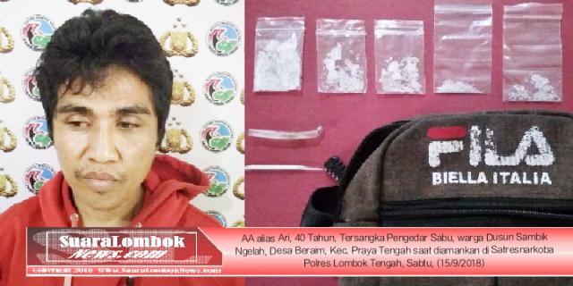 Polisi Tangkap Pengedar dan Pengguna Sabu di Desa Darmaji