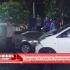 Sopir Ngantuk, Sedan Corolla vs Avanza Adu Jangkrik di Jalan Gajah Mada Praya