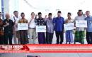 Ratusan Nelayan Lombok Tengah Terima Bantuan Mesin Perahu Bertenaga LPG