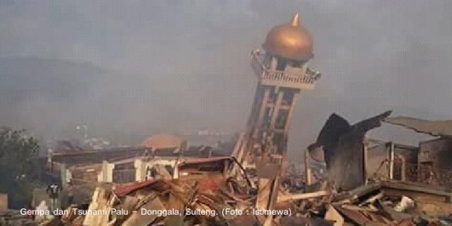 8 Polisi Gugur di Musibah Gempa dan Tsunami Palu – Donggala