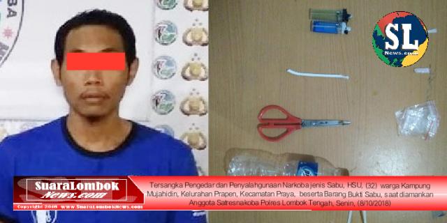 Seminggu, 3 Warga Kelurahan Prapen Ditangkap Polisi Karena Nyabu