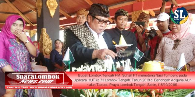 Upacara HUT Lombok Tengah ke 73 Berlangsung Khidmat
